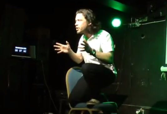 Mike Galsworthy speaking